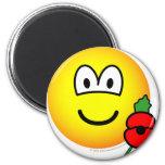 Poppy emoticon   fridge_magents_magnet