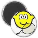 Tennis buddy icon   fridge_magents_magnet