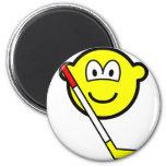 Ice hockey buddy icon   fridge_magents_magnet