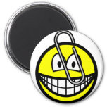 Paperclipped smile   fridge_magents_magnet