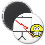Presenting smile bad news  fridge_magents_magnet