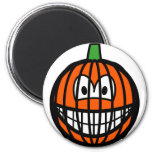 Jack-o-lantern smile   fridge_magents_magnet