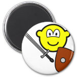 Sword fighting buddy icon   fridge_magents_magnet