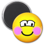 Shy emoticon   fridge_magents_magnet