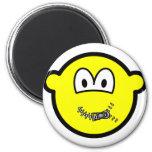 Zipped up buddy icon   fridge_magents_magnet