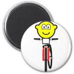 Mountain biking buddy icon Olympic sport Cycling fridge_magents_magnet