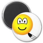 Tickled emoticon   fridge_magents_magnet