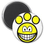 Paw print smile   fridge_magents_magnet