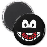 Evil smile Devilish  fridge_magents_magnet