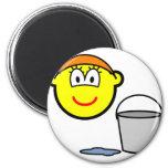 Cinderella buddy icon   fridge_magents_magnet