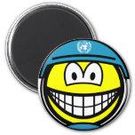 UN soldier smile   fridge_magents_magnet