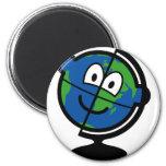 Globe buddy icon   fridge_magents_magnet