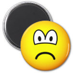 Sad emoticon   fridge_magents_magnet