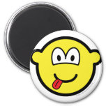 Happy face buddy icon   fridge_magents_magnet