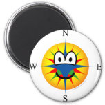 Compass emoticon   fridge_magents_magnet