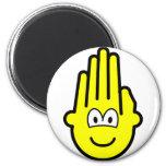 Hand buddy icon   fridge_magents_magnet