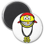 Rapper smile   fridge_magents_magnet