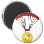 Parachute emoticon   fridge_magents_magnet