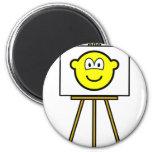 Painted buddy icon   fridge_magents_magnet