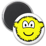 Fuzzy buddy icon or buddy icon after accidentally falling into the washing-machine  fridge_magents_magnet