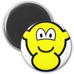 Pregnant buddy icon   fridge_magents_magnet