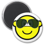Aviators buddy icon Sunglasses   fridge_magents_magnet