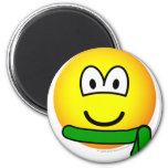 Green belt emoticon   fridge_magents_magnet
