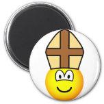 Pope emoticon   fridge_magents_magnet
