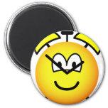 Alarm clock emoticon   fridge_magents_magnet