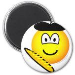 Frenchman emoticon   fridge_magents_magnet