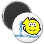 Aquarius buddy icon Zodiac sign  fridge_magents_magnet