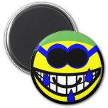 Swimming smile   fridge_magents_magnet