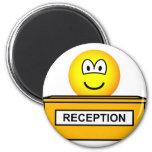 Reception emoticon   fridge_magents_magnet