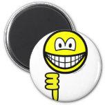 Thumb down smile   fridge_magents_magnet