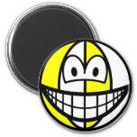 Beachball smile   fridge_magents_magnet