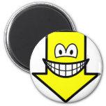 Down smile arrow  fridge_magents_magnet