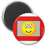Etch a sketch emoticon   fridge_magents_magnet