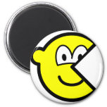Pac Man buddy icon   fridge_magents_magnet