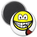Pipe smoking smile   fridge_magents_magnet