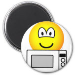 Microwaving emoticon   fridge_magents_magnet