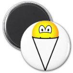 Snowcone emoticon   fridge_magents_magnet