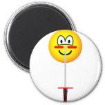 Pogo Stick emoticon   fridge_magents_magnet