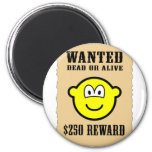 Wanted poster buddy icon   fridge_magents_magnet