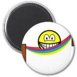 Hammock smile   fridge_magents_magnet