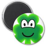 Clover emoticon   fridge_magents_magnet