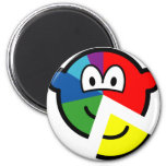 Pie chart buddy icon Highlighted  fridge_magents_magnet