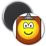 Clipboard emoticon   fridge_magents_magnet