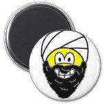 Osama Bin Laden smile   fridge_magents_magnet