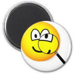 Magnified emoticon   fridge_magents_magnet