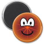 Grapefruit emoticon   fridge_magents_magnet